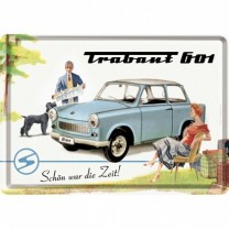 Placa metalica - Trabant Holiday - 10x14 cm